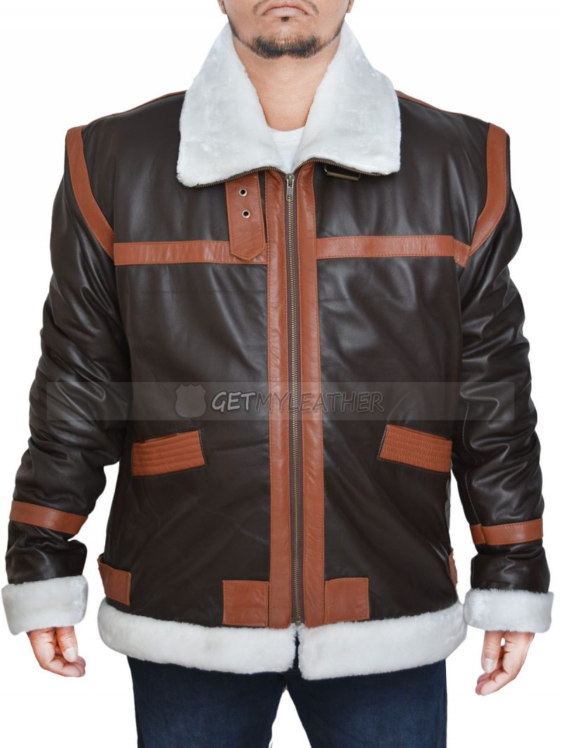 Dauntless Leon Kennedy Bomber Leather Coat Jacket