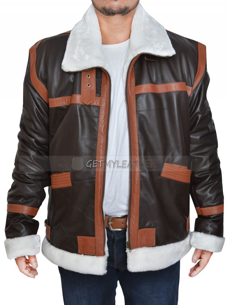 Dauntless Leon Kennedy Leather Jacket