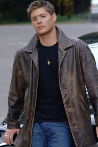 Dean Winchester Occult Supernatural Leather Jacket