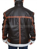 Leon Kennedy Bomber Leather Jacket