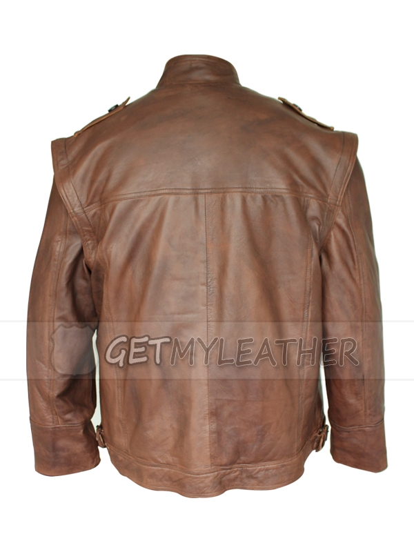 Incredible movie Grant Bowler Defiance Leather Jacket