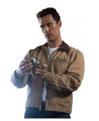 Interstellar Matthew McConaughey Fabulous Brown Jacket