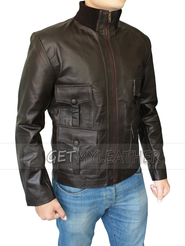 James Bond Style Casino Royal Leather Jacket