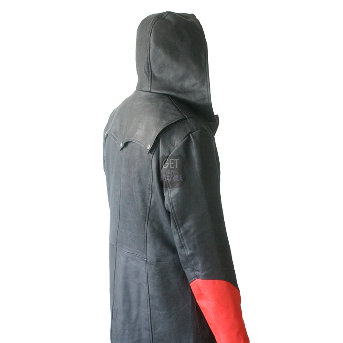 Red & Black Devil May Cry Coat Jacket getmyleather