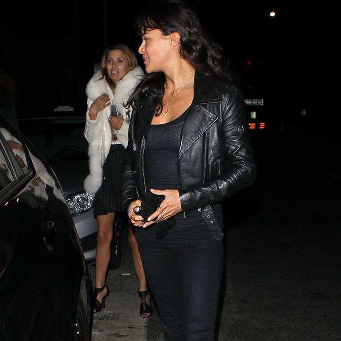 Cropped Black Furious 7 Trailer Michelle Rodriguez Leather Jacket