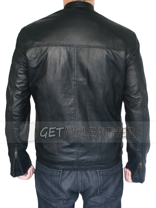 Magnificent Terminator Genisys T800 Arnold leather Jacket