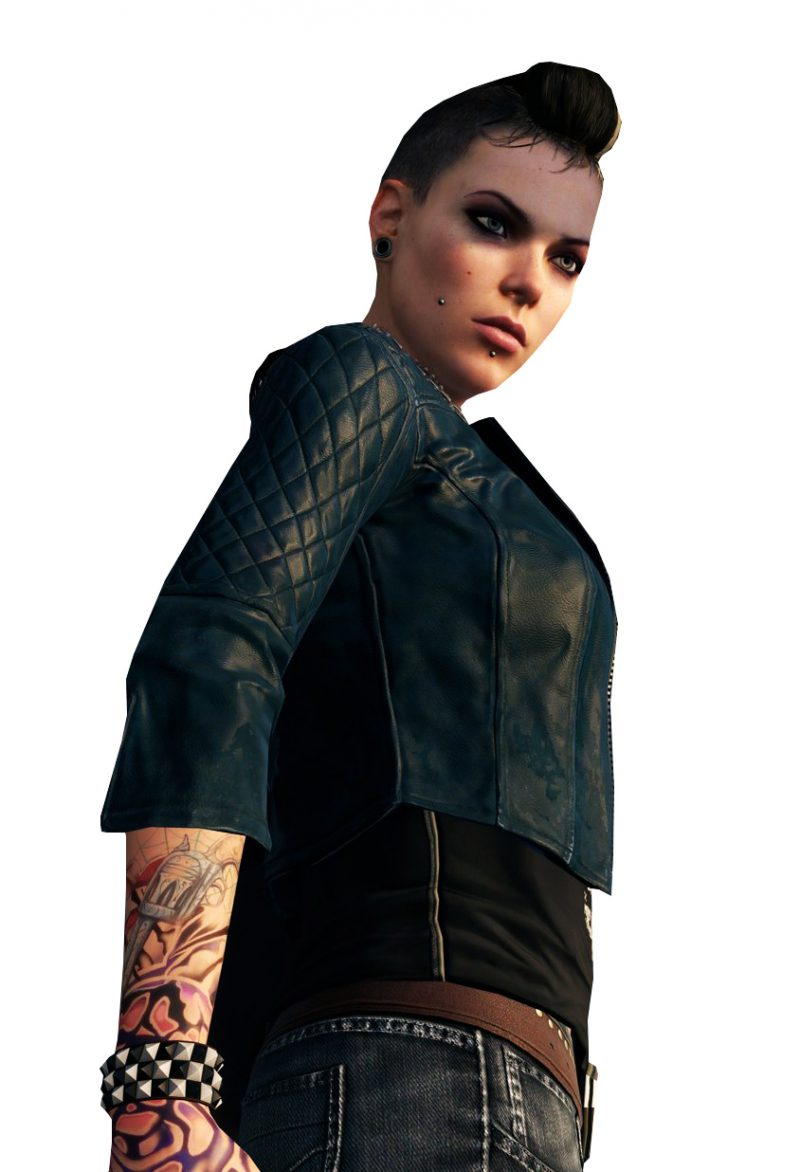 Beautiful Watch Dogs Clara Lille Jacket