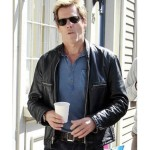 R.I.P.D Movie Kevin Bacon Leather Jacket
