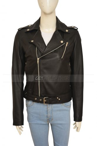 stylish-kim-kardashian-biker-jacket
