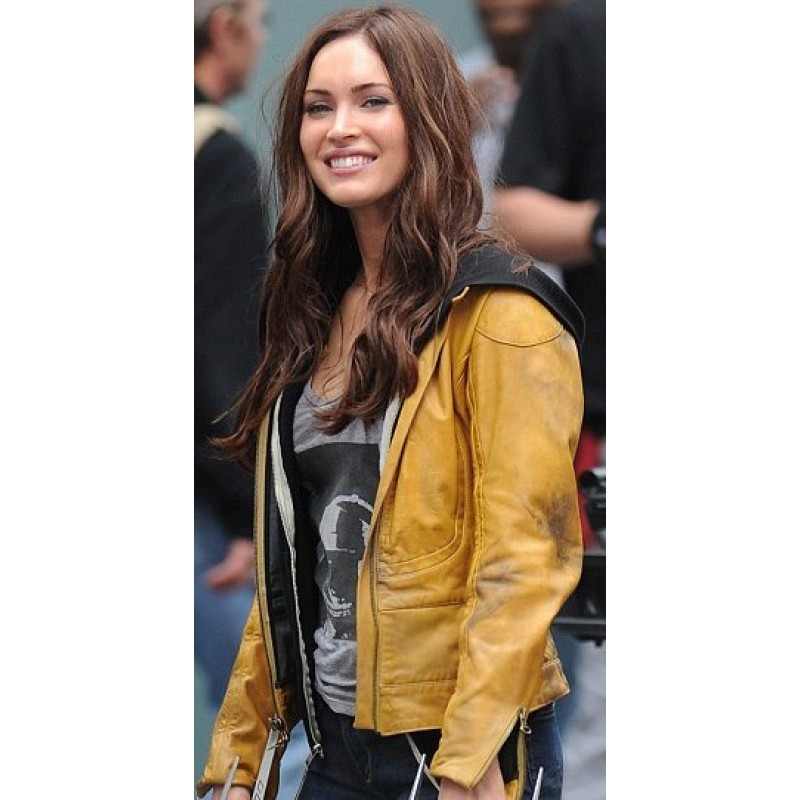 TMNT Megan Fox Teenage Mutant Ninja Turtles Jacket