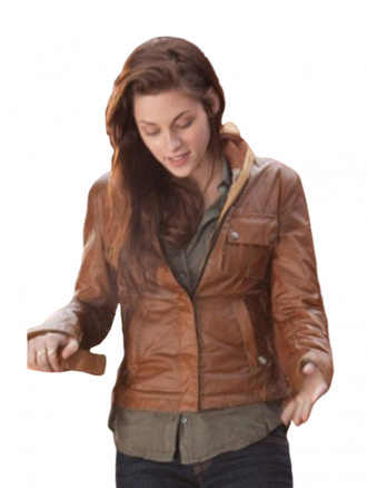 Classic Slim Fit Twilight Bella leather Jacket