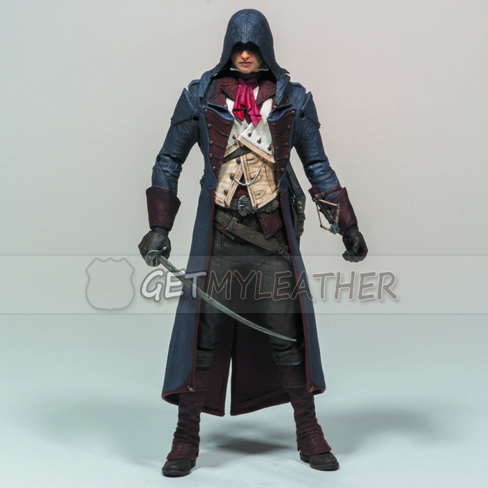 Game Assassins Creed Unity Arno Victor Dorian Coat Getmyleather