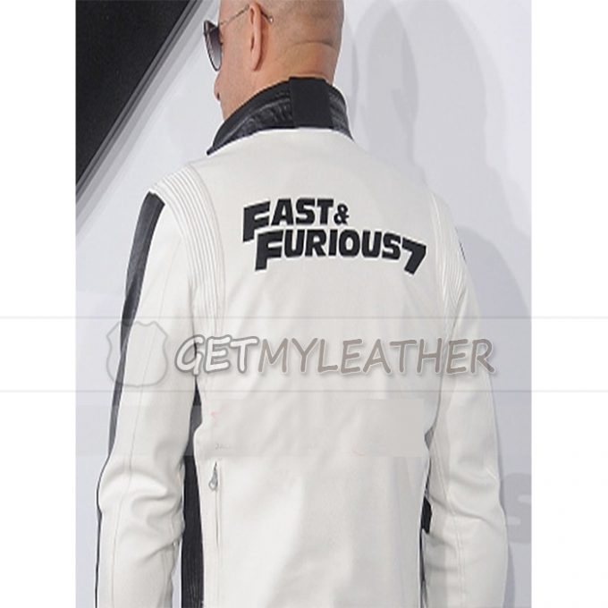 New White Fast And Furious 7 Vin Diesel Jacket
