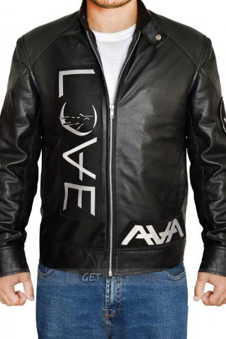 Tom Delonge Angels and Airwaves leather Jacket