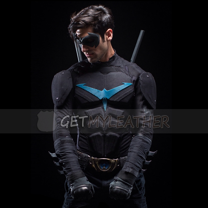 Danny Shepherd Nightwing leather Jacket Getmyleather