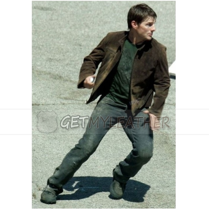 Tom Cruice Mission Impossible 3 Suede Jacket Getmyleather