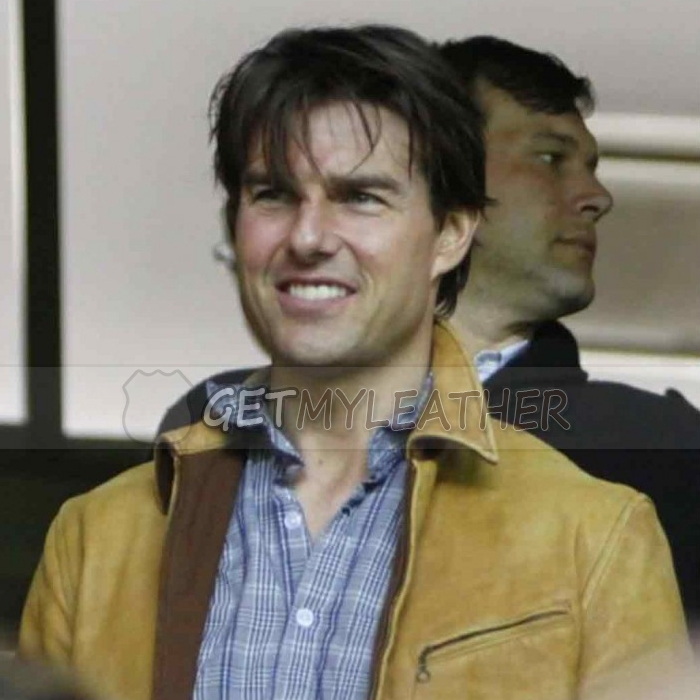 Tom Cruise Knight And Day Roy Miller Leather Jacket getmyleather