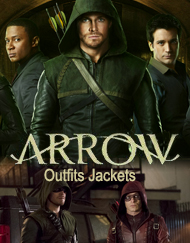 TV Series Arrow Jacket Outfits