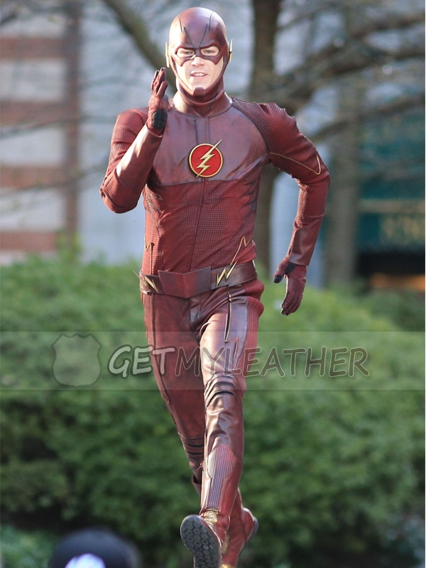 Impeccable Maroon Barry Allen The Flash Jacket