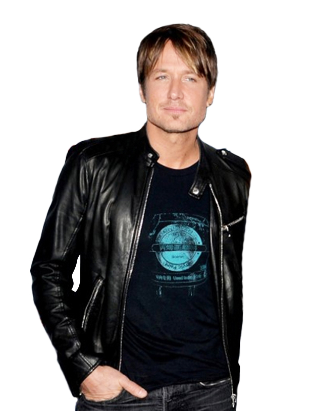American Idol Judges Musician Keith Urban Leather Jacket