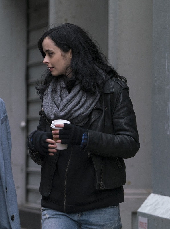 TV Series Jessica Jones Krysten Ritter leather Jacket