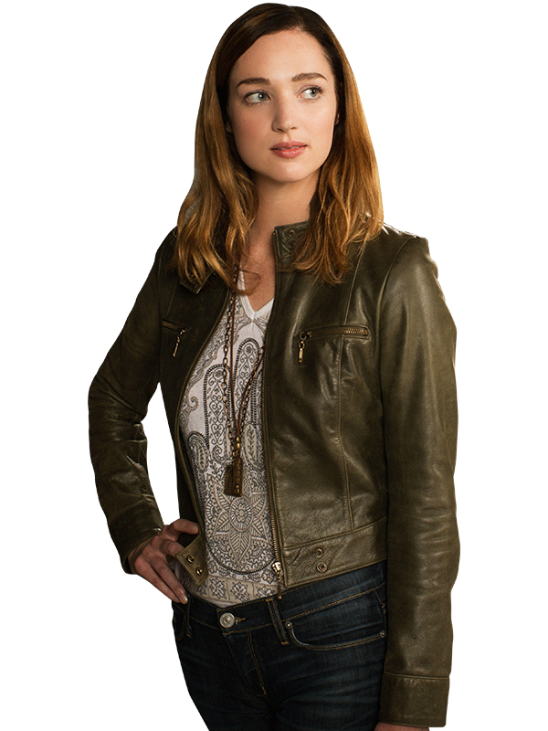 Zoo Kristen Connolly leather Jacket
