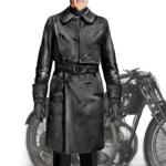 Willem Dafoe Jopling Leather Coat
