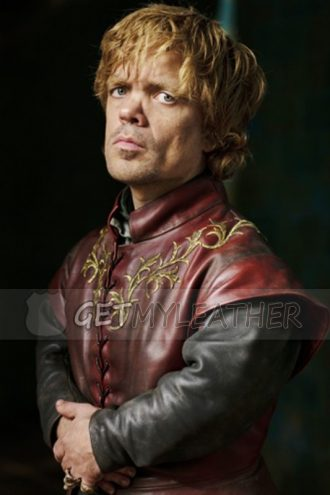 Game of Thrones Tyrion Lannister Leather Vest Costume