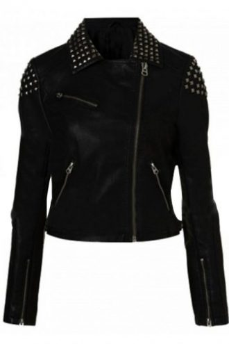 wwe-paige-black-studded-biker-leather-jacket-2