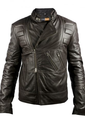 Hercules Maximus Biker Leather Jacket