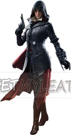 Assassin's Creed Syndicate Evie Frye Women Costume Coat