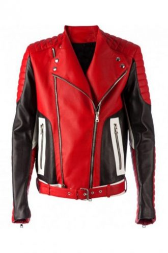 men-fashion-bikers-red-leather-jacket-1