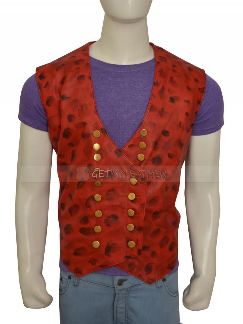 Once Upon A Time Colin O'Donoghue Red Leather Vest