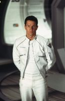 Planet of the Apes Mark Wahlberg White Jacket