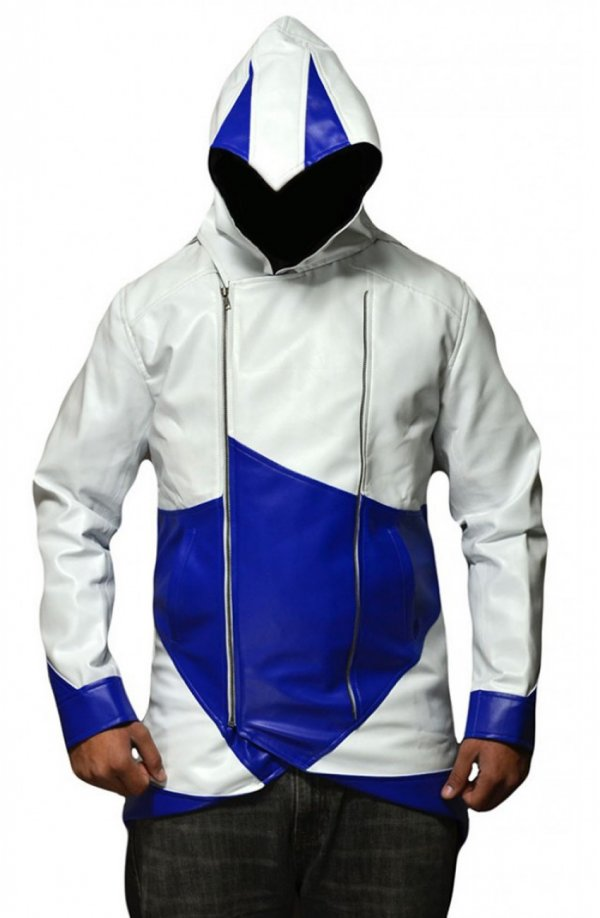 Assassins Creed 3 Conner Kenway Hoodie Jacket