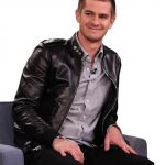 Andrew Garfield Black Leather Jacket