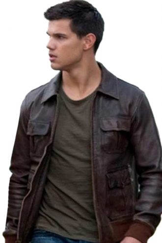 Abduction Movie Taylor Lautner Leather Jacket