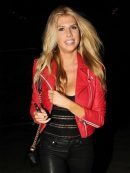 charlotte-mckinney-red-leather-jacket-1