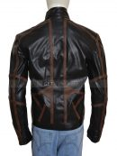 Sebastian Stan Bucky Barnes Movie Leather Jacket