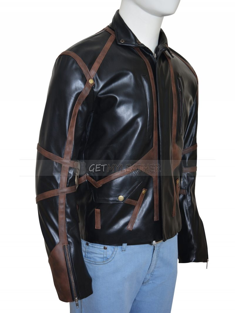 Winter Soldier Sebastian Stan Bucky Barnes Leather Jacket