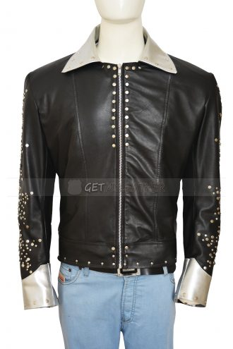 Paul Stanley Kiss Starchild Alive Metal Studs Stylish Jacket
