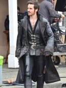 Once Upon a Time Captain Hook Trench Coat