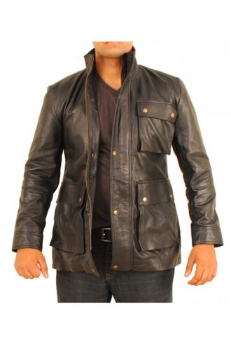 Star Terk Into Darkness James T.Krik Leather Jacket