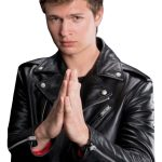 Ansel Elgort Baby Driver Motorcycle Jacket