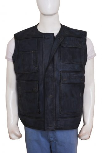 Han–Xiongnu War Solo Vest Movie Star Leather Jacket getmyleather
