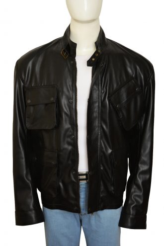 Blitz Jason Statham Movie Black Jacket