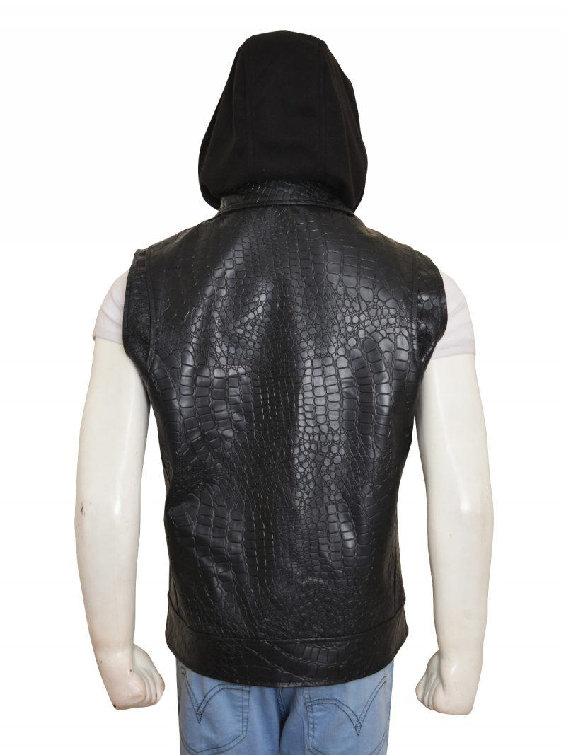 Wwe Aj Styles Synthetic Leather Vest