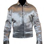 Kurt Russell Death Proof Stunt Stylish Satin Jacket
