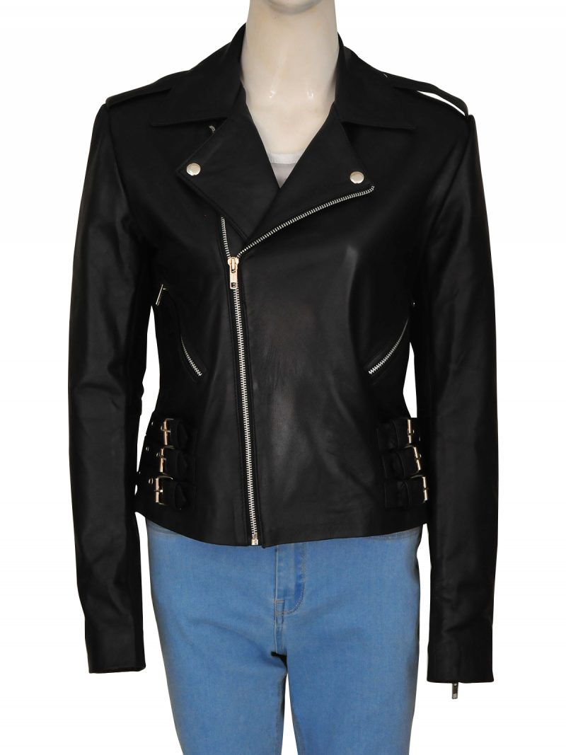 Black Leather Jacket famous model jacket