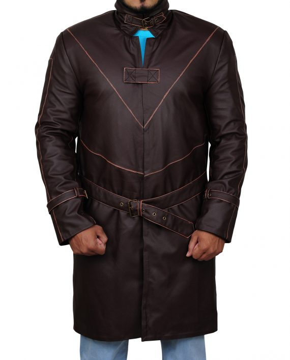Watch Dogs 2 Aiden Pearce Costume Coat